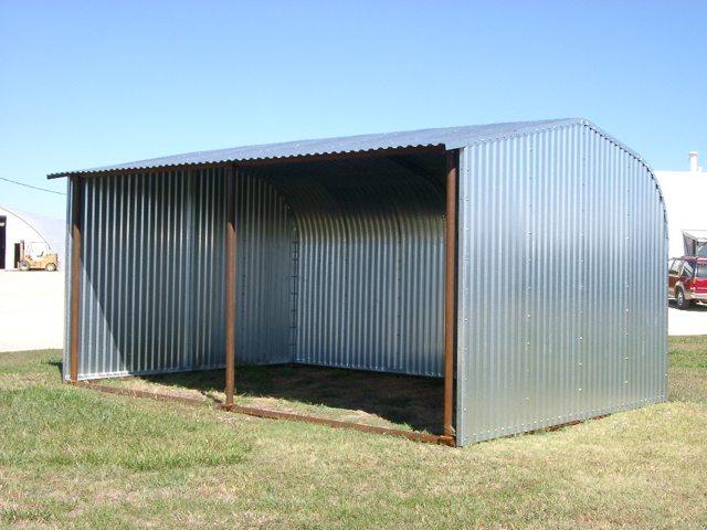 Open Side Steel Large